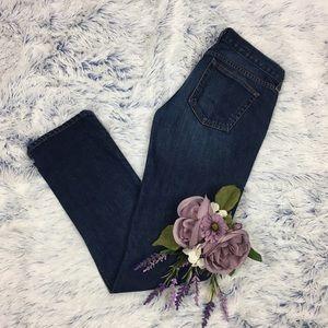 J Crew Matchstick Slim Straight Jeans 26s, 26x31